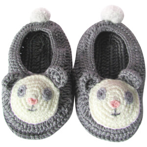 Albetta Crochet Paul Panda Booties