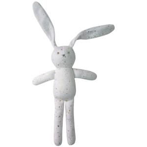 Albetta Confetti Print Bunny Toy - Gold