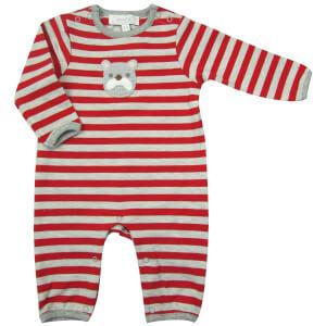 Albetta Crochet Bulldog Babygrow - 0-3 Months