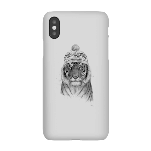 Balazs Solti Winter Tiger Phone Case for iPhone and Android