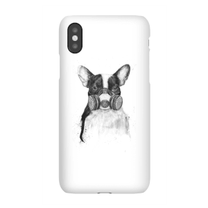 Balazs Solti Masked Bulldog Phone Case for iPhone and Android