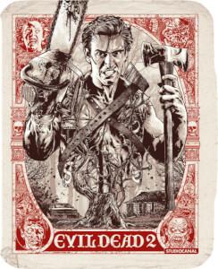 Evil Dead 2 (4K UHD & 2D Blu-ray) - Zavvi Exclusive Steelbook