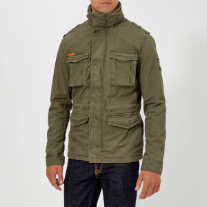 Superdry Men's Rookie Military Jacket - Khaki