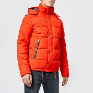 Superdry Men's New Academy Jacket - Blood Orange