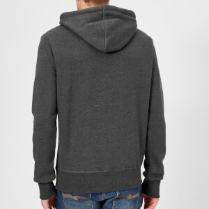 Superdry Men's Duo Hooded Sweatshirt - Charcoal: Image 2