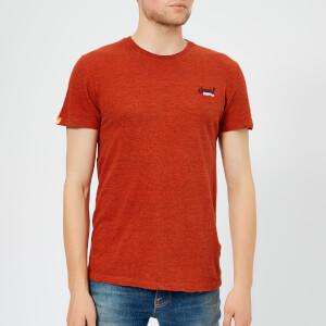 Superdry Men's Orange Label Small Logo T-Shirt - Arizona Orange Grit