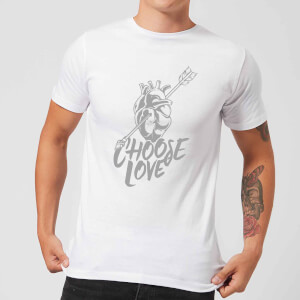 Native Shore Choose Love Men's T-Shirt - White