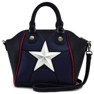 Loungefly Marvel Captain America Cosplay Cross Body Bag