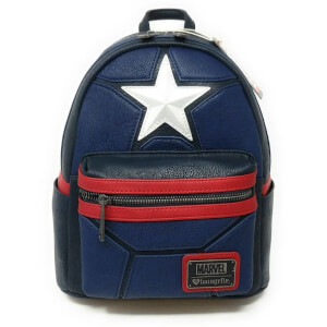 Loungefly Marvel - Zainetto Capitan America