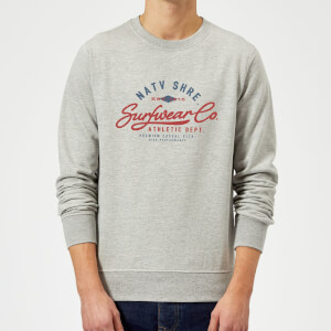 Native Shore Athletic DEPT. Sweatshirt - Grey