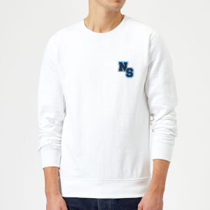 Native Shore NS Logo Sweatshirt - White
