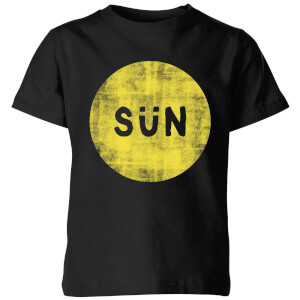 My Little Rascal Sun Kids' T-Shirt - Black