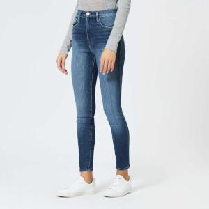 Frame Women's Ali High Rise Skinny Jeans - Belhaven