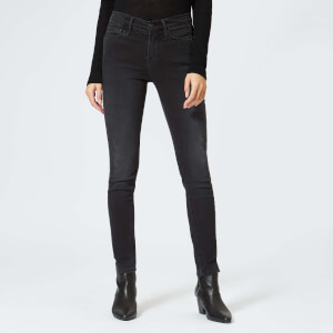 Frame Women's Le Skinny Coated Jeans - Dunlop Coated Tux