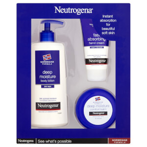 Neutrogena® Norwegian Formula Saving Bundle - Deep Moisture Gift Set