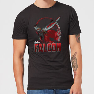 Avengers Falcon Men's T-Shirt - Black