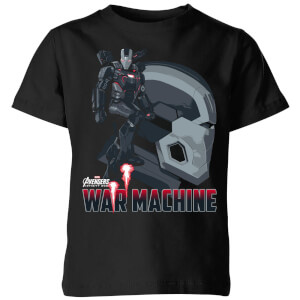 Avengers War Machine Kids' T-Shirt - Black
