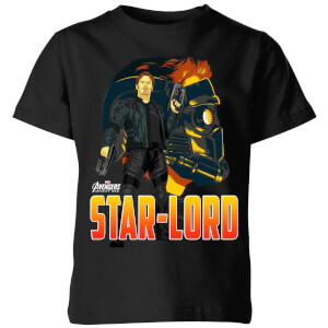 Avengers Star-Lord Kids' T-Shirt - Black