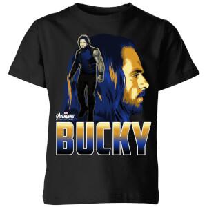 Avengers Bucky Kids' T-Shirt - Black