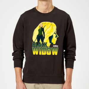 Sweat Homme Black Widow Avengers - Noir