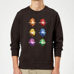 Avengers Infinity Stones Sweatshirt - Black