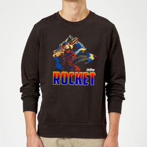 Avengers Rocket Sweatshirt - Black