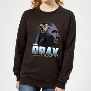 Avengers Drax Women's Sweatshirt - Black
