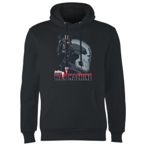 Avengers War Machine Hoodie - Black