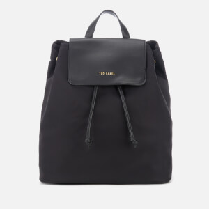Ted Baker Women's Jiejie Nylon Drawstring Backpack - Black