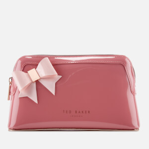 Ted Baker Women's Ixoriaa Bow Makeup Bag - Coral