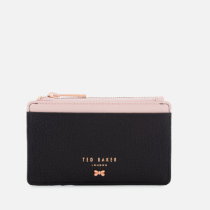 Ted Baker Women's Lori Textured Zipped Credit Card Holder - Black