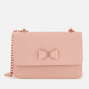 Ted Baker Women's Doriis Bow Detail Micro Cross Body Bag - Light Pink