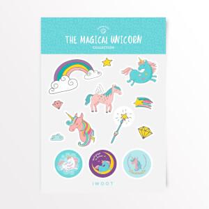 The Magical Unicorn Sticker Pack