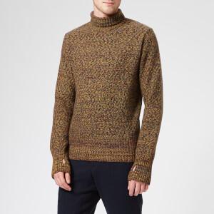 Oliver Spencer Men's Talbot Roll Neck Knitted Jumper - Hereford Multi