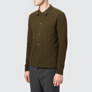 Oliver Spencer Men's Rundell Jersey Jacket - Stanhope Green