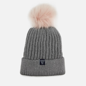 Superdry Women's Aries Sparkle Beanie - Grey Marl