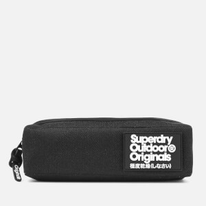 Superdry Women's Montana Fold Pencil Case - Black Glitter