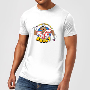 Camiseta Bullseye Can't Beat A Bit Of Bully - Hombre - Blanco