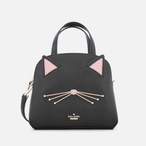 Kate Spade New York Women's Cat Small Lottie Tote Bag - Black