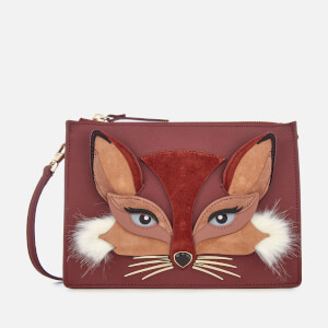 Kate Spade New York Women's Fox Clarise Pouch - Sienna