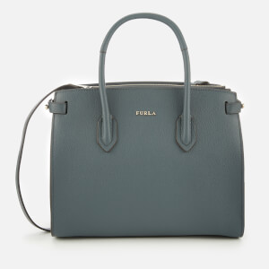 Furla Women's Pin Small East West Tote Bag - Dark Grey