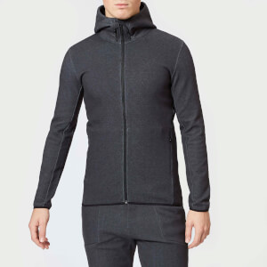 Peak Performance Men's Tech Zip Hoody - DK Grey Marl