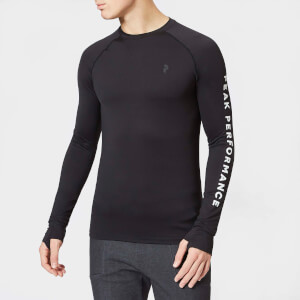 Peak Performance Men's Spirit Long Sleeve Top - Black