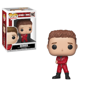 La Casa de Papel (Money Heist) Denver Funko Pop! Vinyl
