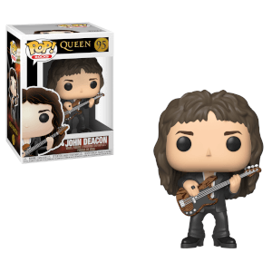 Pop! Rocks Queen John Deacon Funko Pop! Figuur