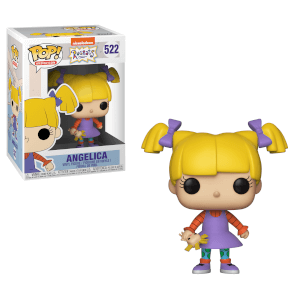 90's Nickelodeon: Rugrats - Angelica Pickles Pop! Vinyl Figur