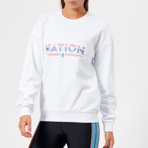 P.E Nation Women's The Attacker Sweatshirt - White