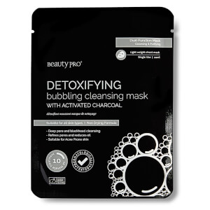 BeautyPro Detoxifying Bubbling Mask with Activated Charcoal
