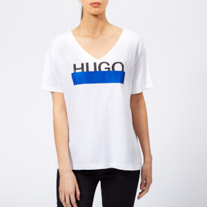 HUGO Women's Naria Logo T-Shirt - White
