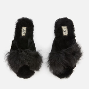 UGG Women's Mirabelle Sheepskin Slide Slippers - Black